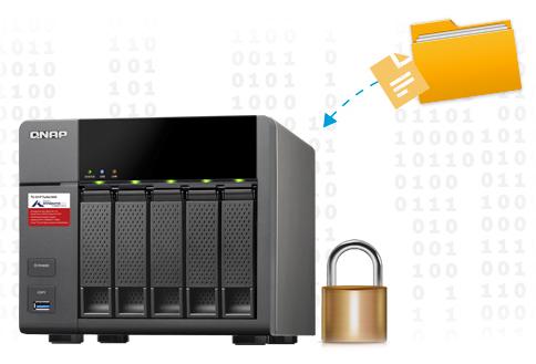 Segurança para os arquivos