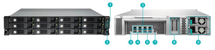 12 bay Storage 32TB
