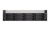 Embalagem TS-1263U Qnap Storage 12 Discos NAS Rackmount 96TB