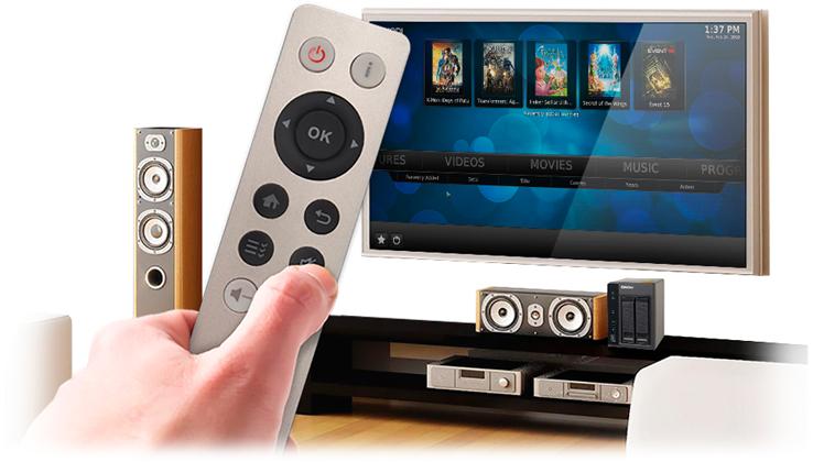 Experiencia Audiovisual com controle remoto