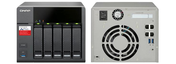 Hardware do 5 bay Storage 15TB TS-531P Qnap