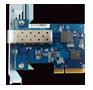 Placa porta rede 10GbE TS-1263U Qnap Storage 12 Discos NAS Rackmount 96TB