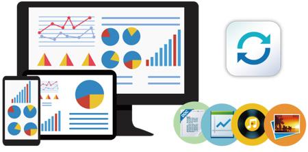 Sincronização de dados entre dispositivos