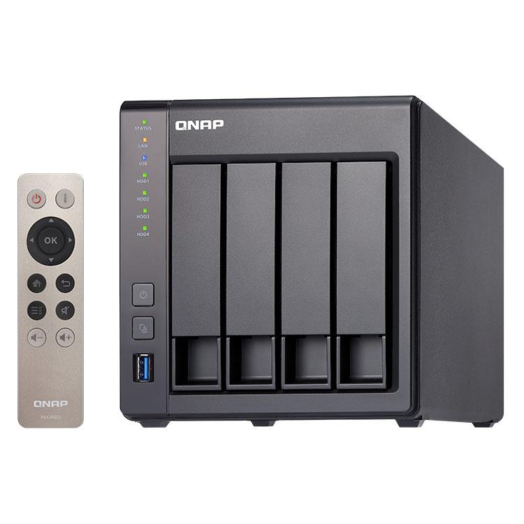TS-451+ Qnap - Storage NAS 4 baias 12TB