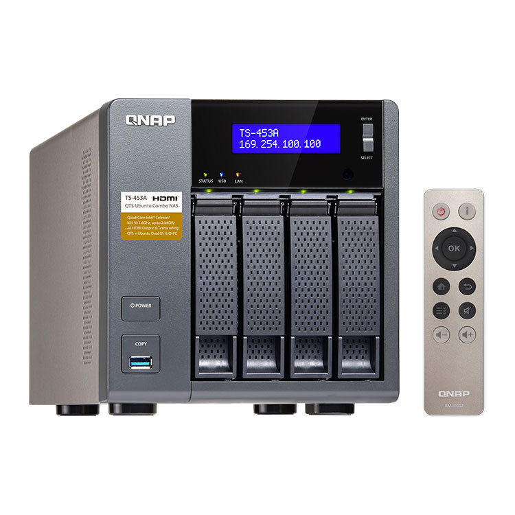 TS-453A Qnap storage 4 bay 16TB