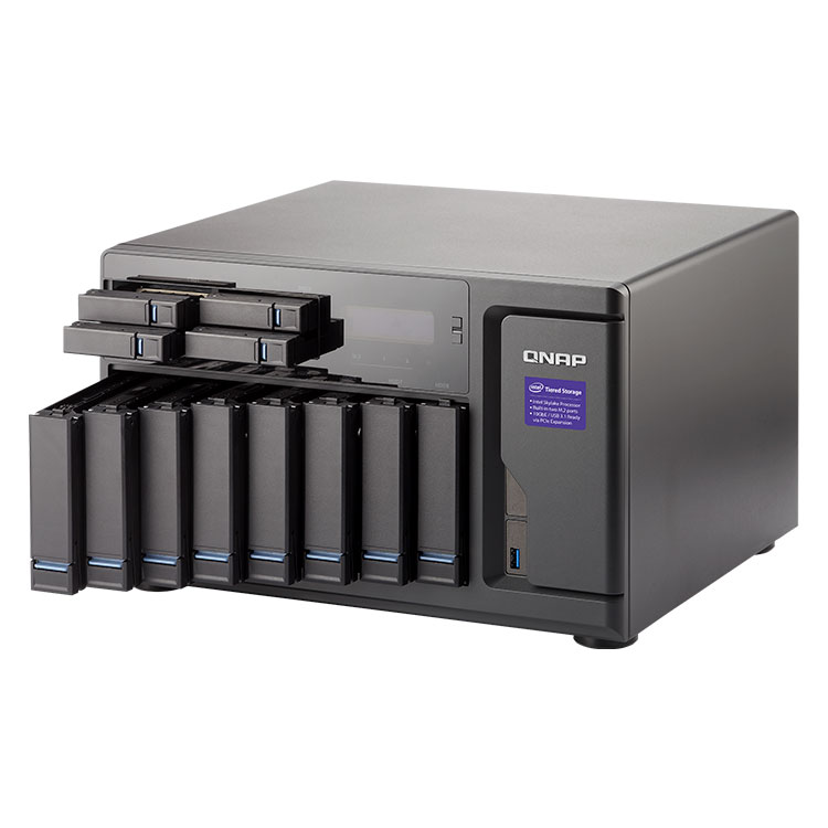 TVS-1282 Qnap - Storage 12 bay 48TB SATA