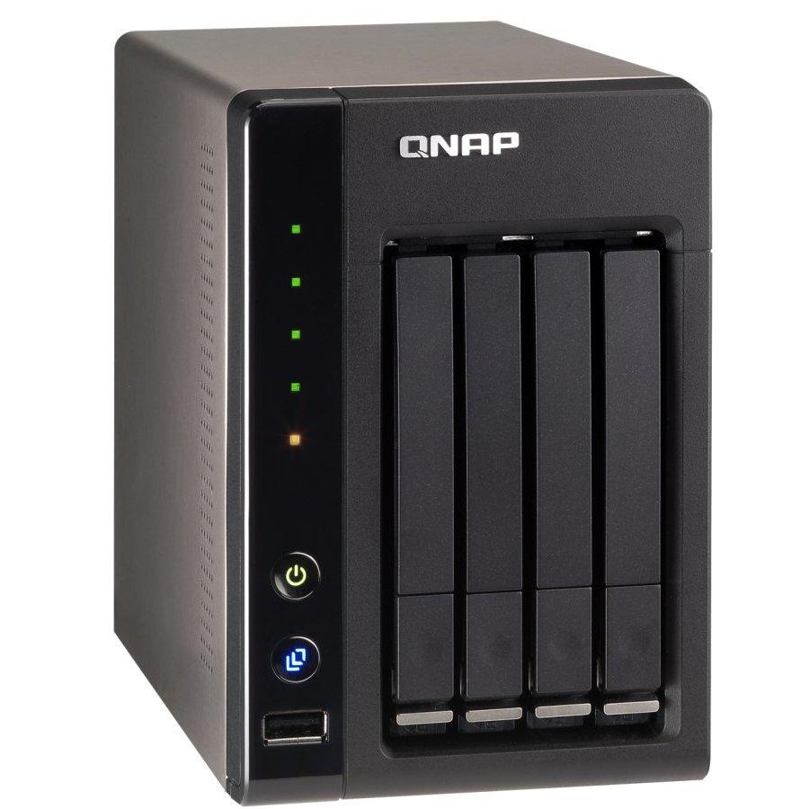 NAS/STORAGE QNAP PARA 4 HDS DE 2.5 SERIE SS-439 PRO