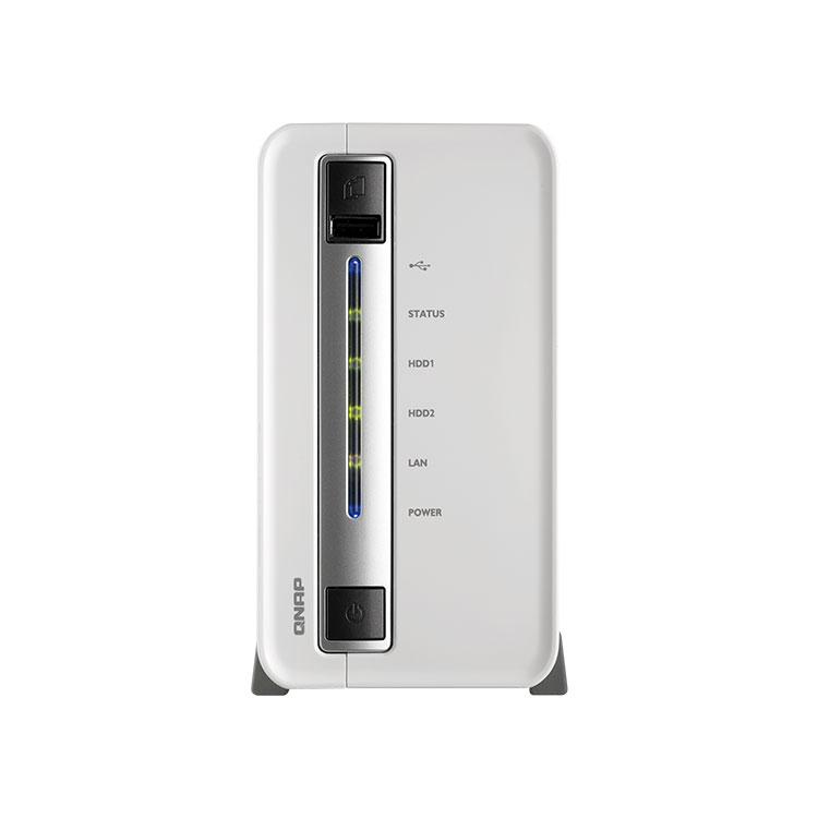 Storage 2TB TS-212e - Storage 2 Baias Qnap - Storage NAS 2 Discos 2TB