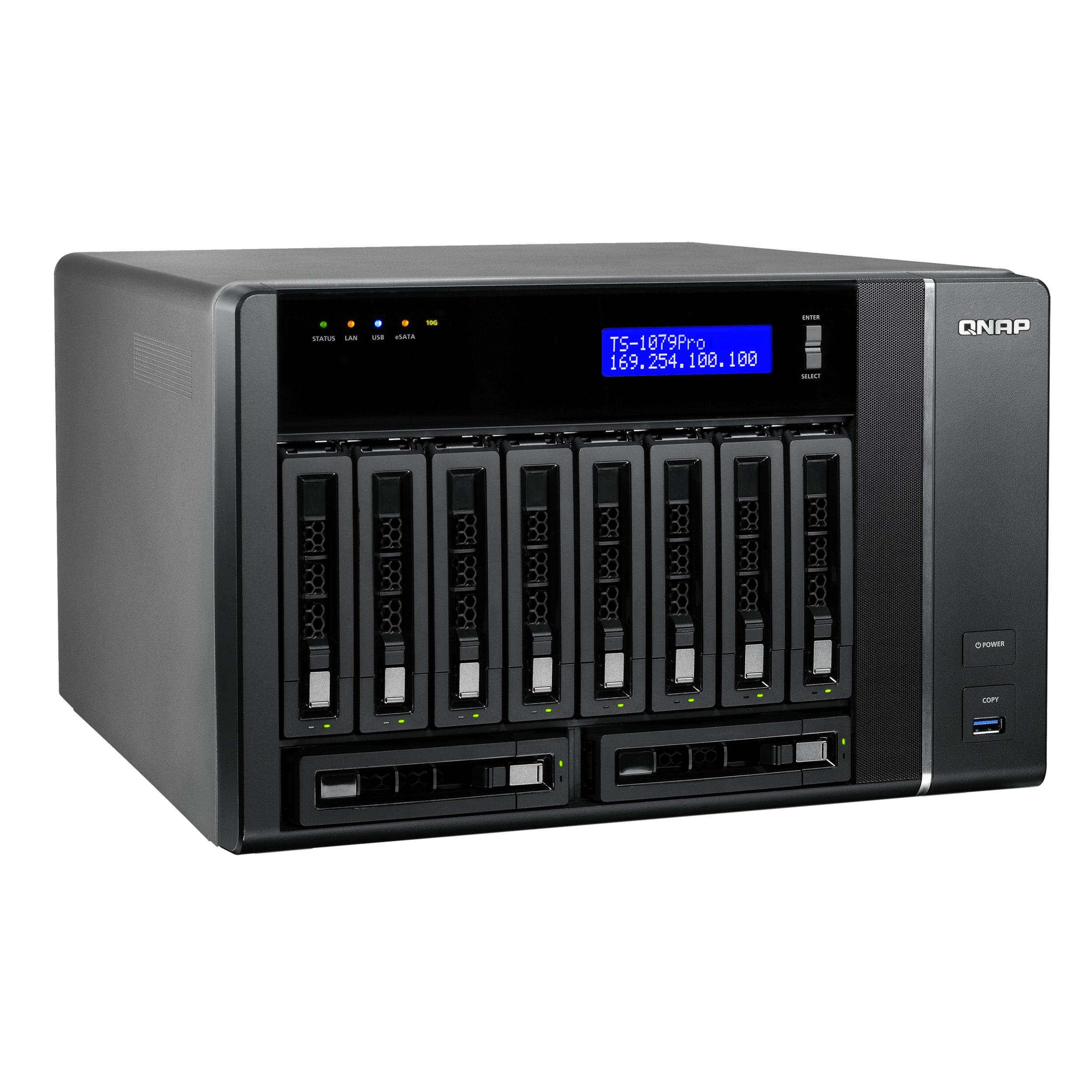 TS-1079 PRO - Storage 10 Baias até 80TB TS-1079 Pro Qnap