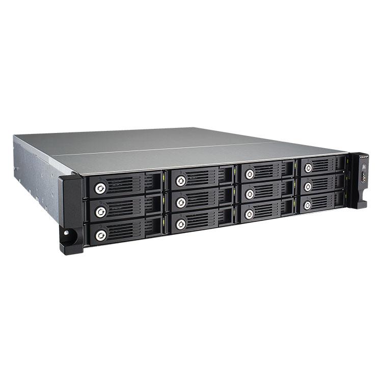 TS-1253U Qnap - Storage NAS 72TB 12 baias SATA