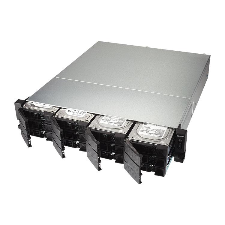 TS-1263U Qnap - Storage 12 Discos NAS Rackmount 96TB SATA