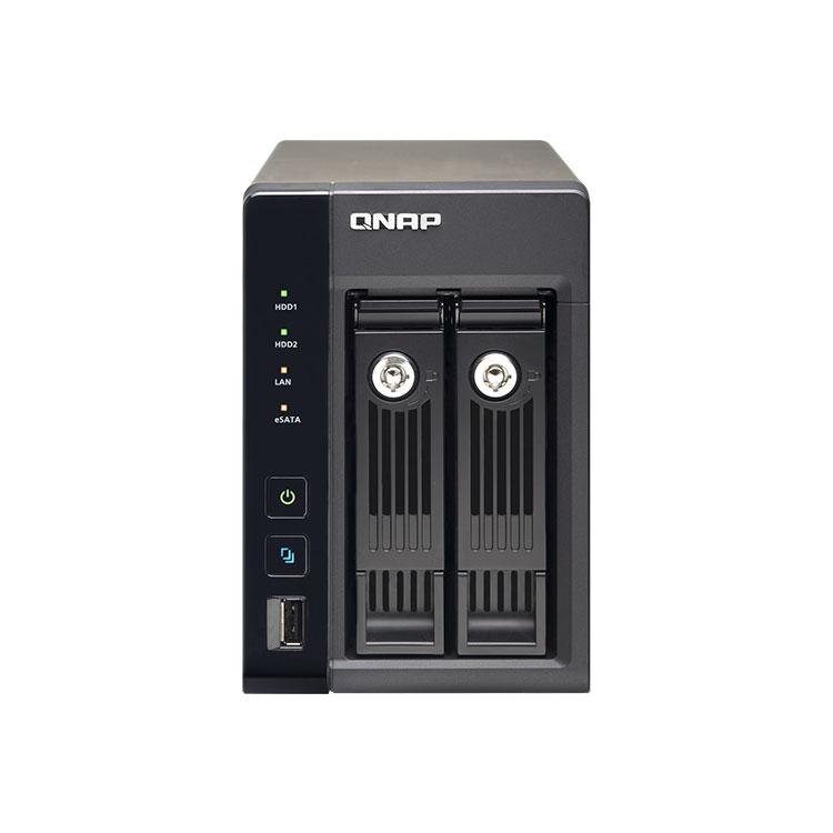 TS-269 Pro Qnap - 2-Bay NAS storage para virtualização até 12TB