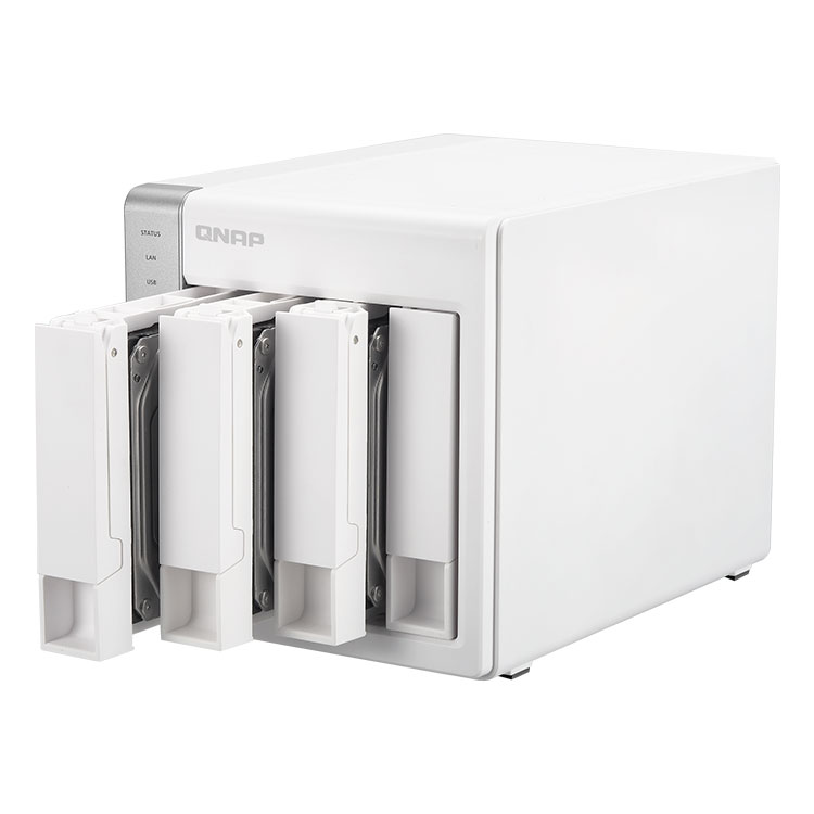 TS-431 - Storage 20TB NAS 4 HDs Qnap