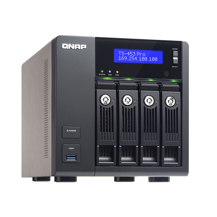 TS-453 Pro - Storage 20TB TS-453 Pro - NAS 4 BAY Qnap