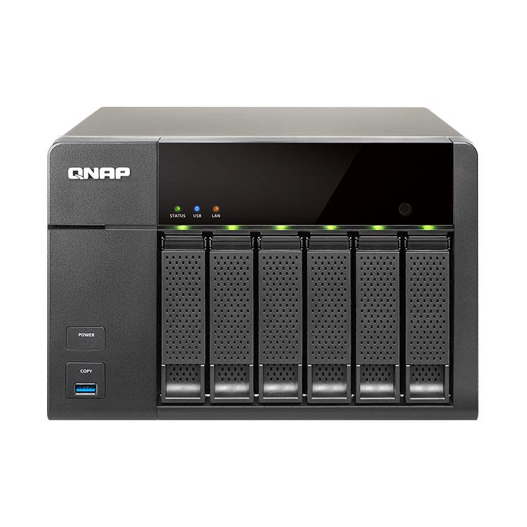TS-651 - Storage 6 Discos - NAS 6 baias até 36TB