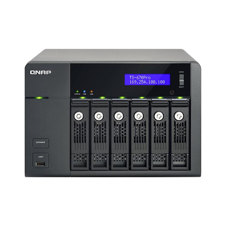 TS-670 PRO - Storage 6 Bay até 36TB Qnap