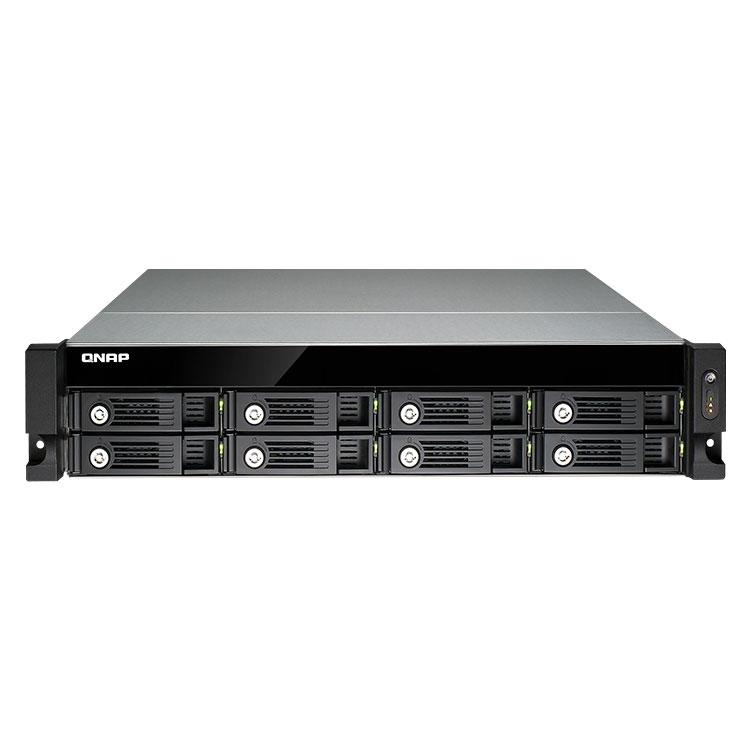 TS-853U-RP - Storage 8 baias de Rack para discos SATA até 64tb