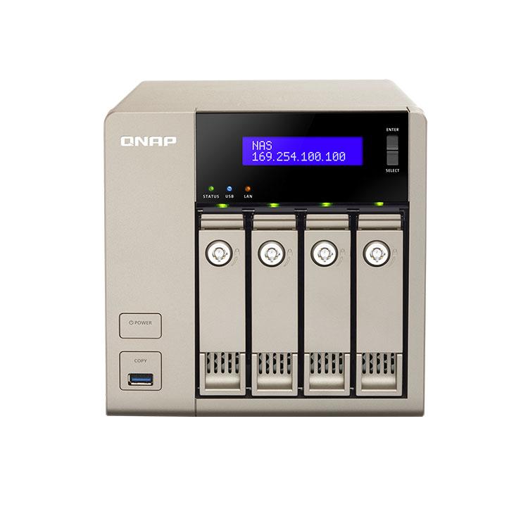 TVS-463 - Storage 4 baias 16TB QNAP
