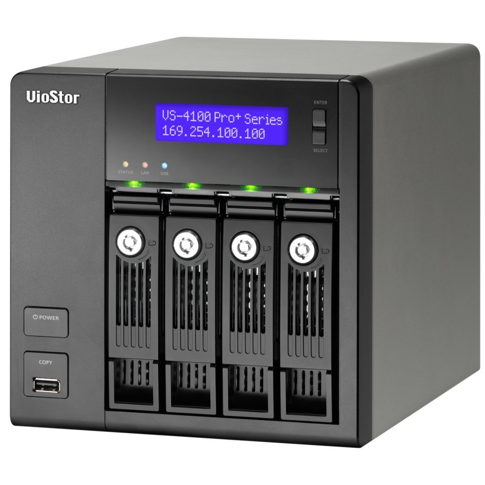 VIOSTOR VS-4112 PRO+ NVR PARA 4 HDS E 12 CAMERAS