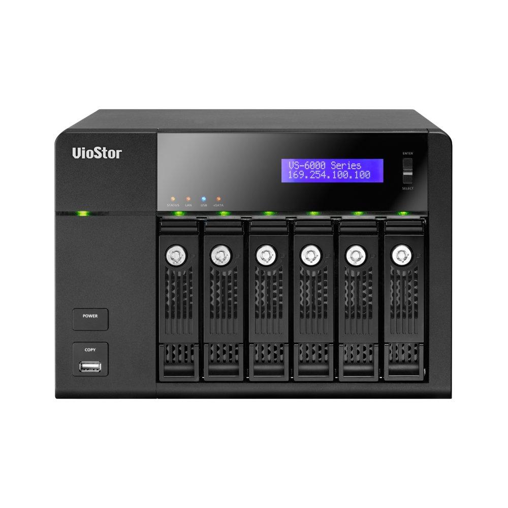 VIOSTOR VS-6012 PRO NAS/NVR/STORAGE 6 HDS X 12 CAMERAS