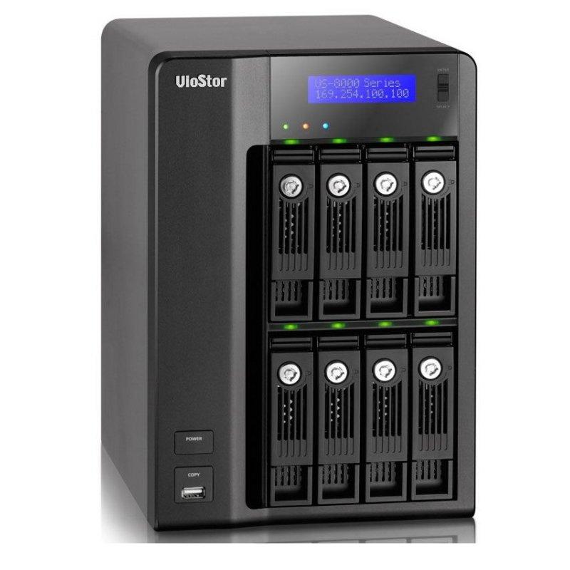 VIOSTOR VS-8040 NAS/NVR/STORAGE 8 HDS X 40 CAMERAS