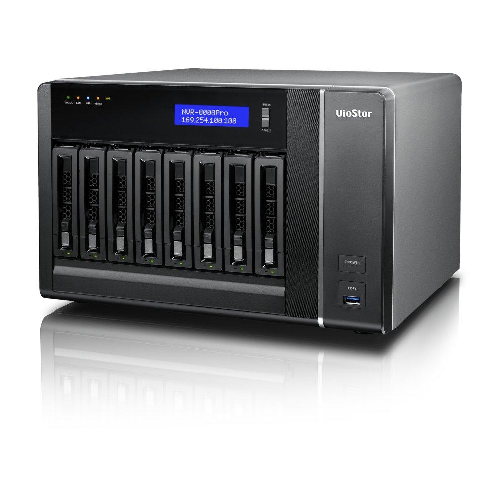 VIOSTOR VS-8140 PRO+ NVR PARA 8 HDS E 40 CAMERAS