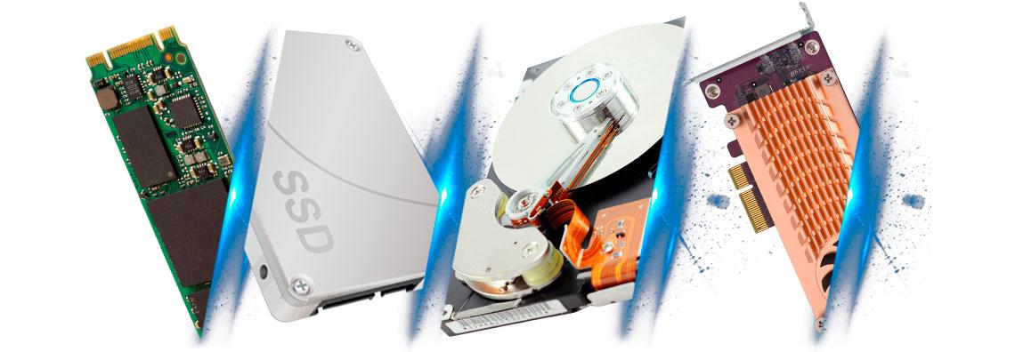 Eficiência de armazenamento otimizada com cache SSD e auto tiering