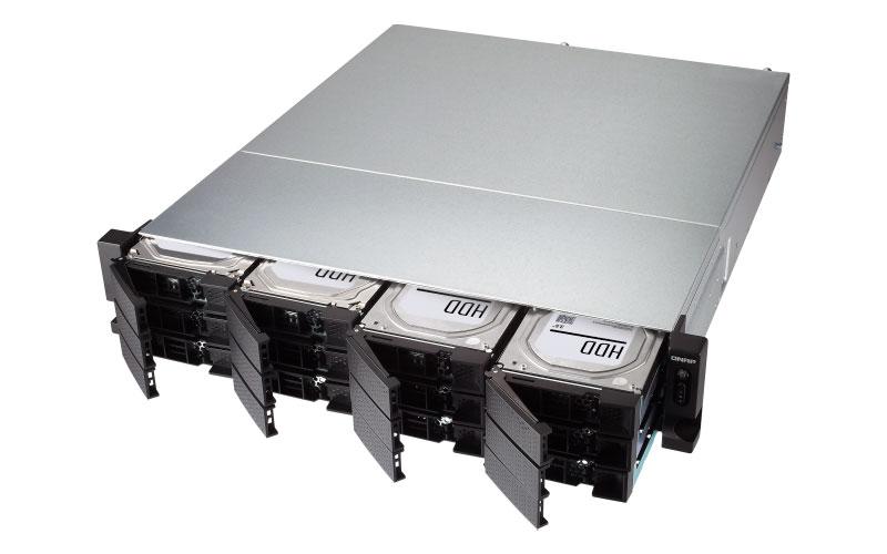 TS-1277XU-RP Qnap  - Storage NAS rackmount 12 baias