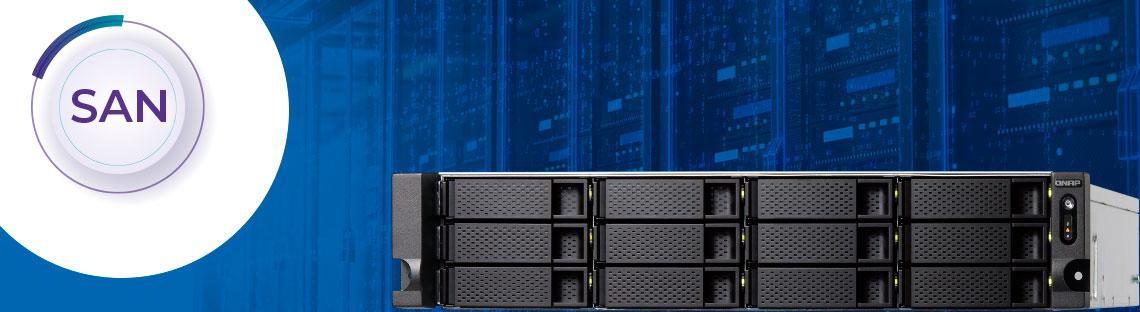 Os storages para redes SAN