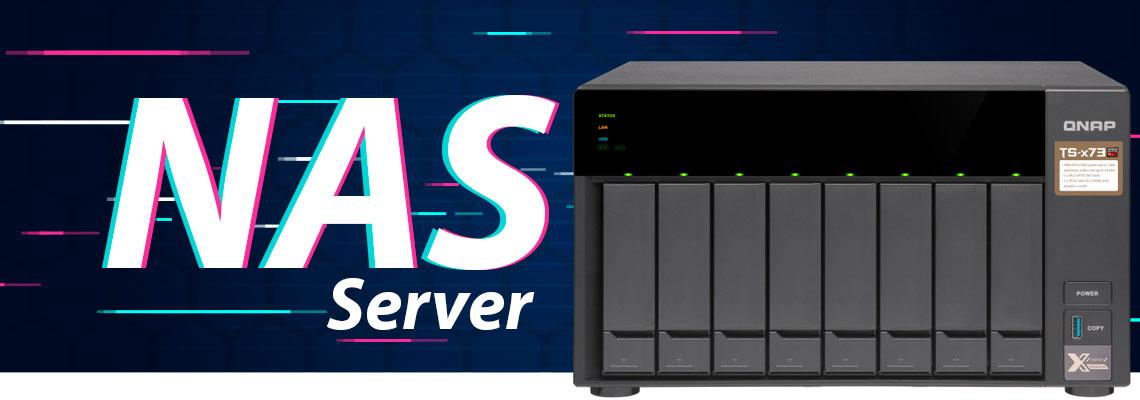 NAS Server - Sistema de armazenamento para redes locais