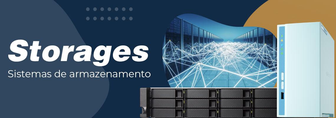 Storages: Sistemas de armazenamento para servidores e computadores