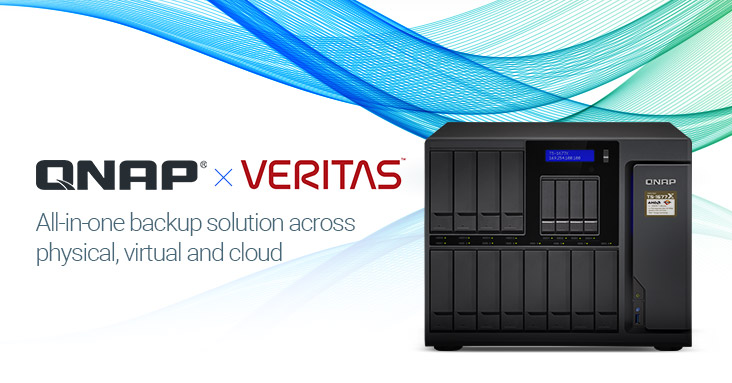 Backup Veritas e Storage NAS Qnap