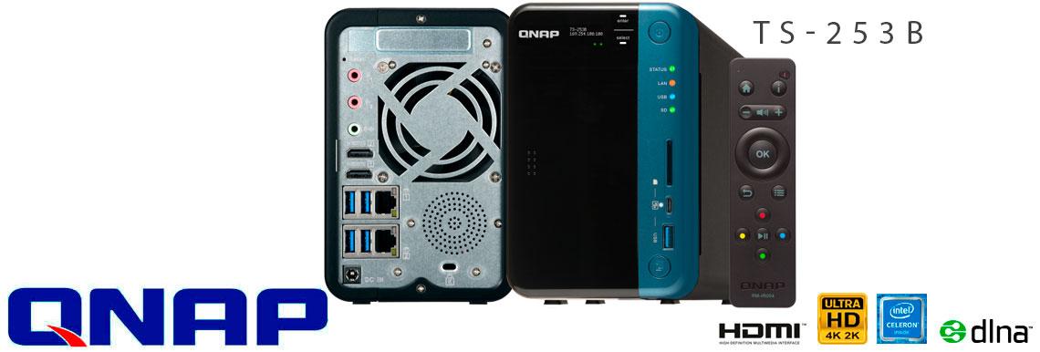 TS-253B Qnap, storage NAS com 28TB de armazenamento