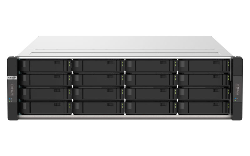 Qnap GM-1000 Gemini Series ZFS 16 Baias Hot Swappable