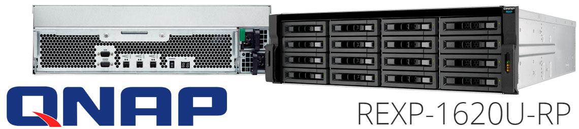 REXP-1620U-RP: Gabinete de expansão com 16 baias