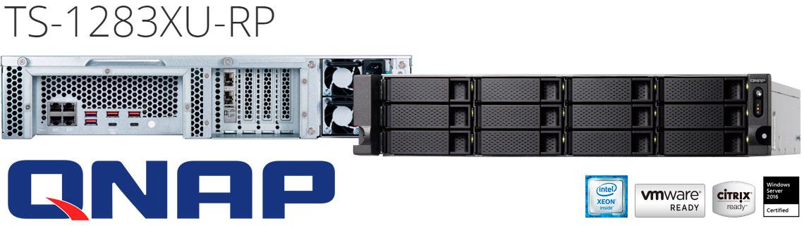 TS-1283XU-RP: NAS com desempenho voltado para virtualização