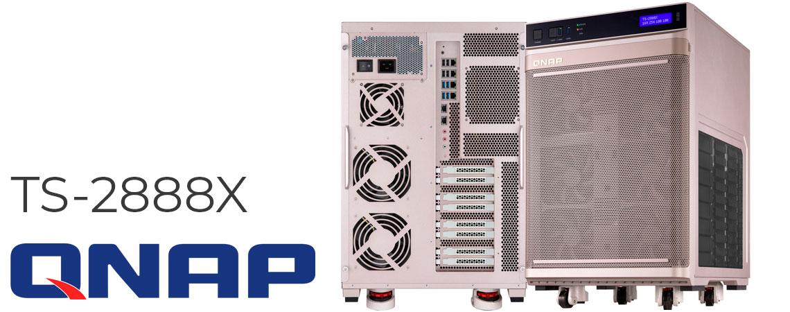 TS-2888X SAN/NAS com 28 baias, ideal para inteligência artificial