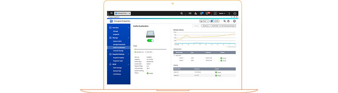 Cache SSD e o desempenho do armazenamento em camadas