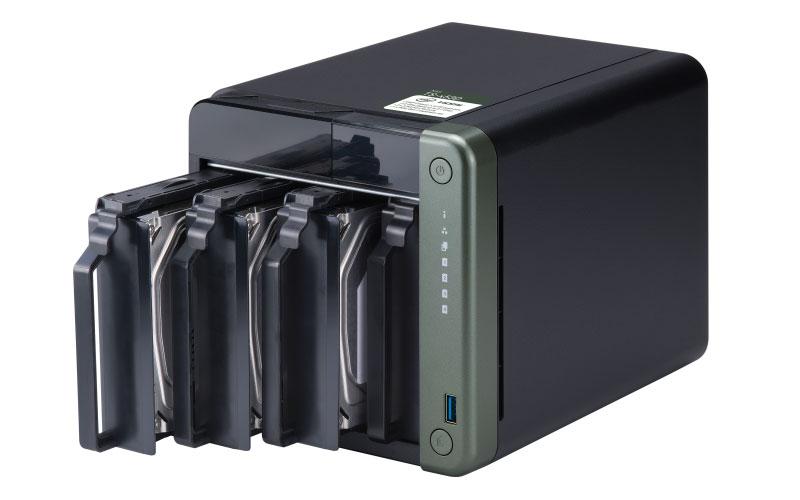 Qnap TS-453D - Storage NAS 4 Baias Hot-Swappable