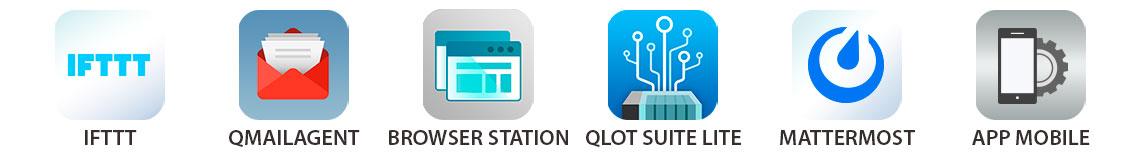 Mais aplicativos Qnap
