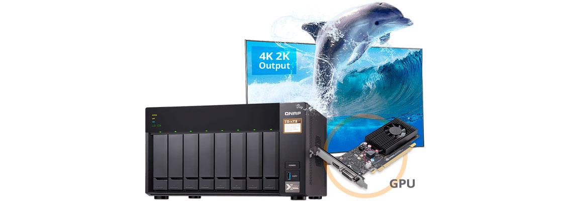 Potência de computação ideal através de placas 4K