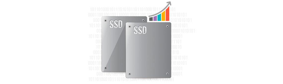 Cache SSD e tiering - Aumento de eficiência do armazenamento do NAS 50TB