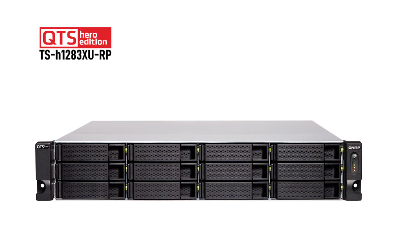 Qnap TS-h1283XU-RP - Storage NAS 12 baias Hot Swappable
