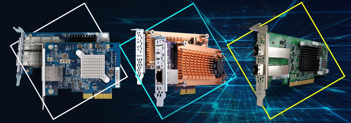 Expansão PCIe para conectividade 40GbE