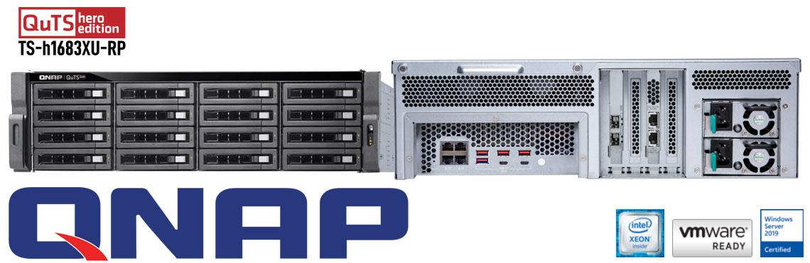 TS-h1683XU-RP ZFS de 16 baias com QuTS hero