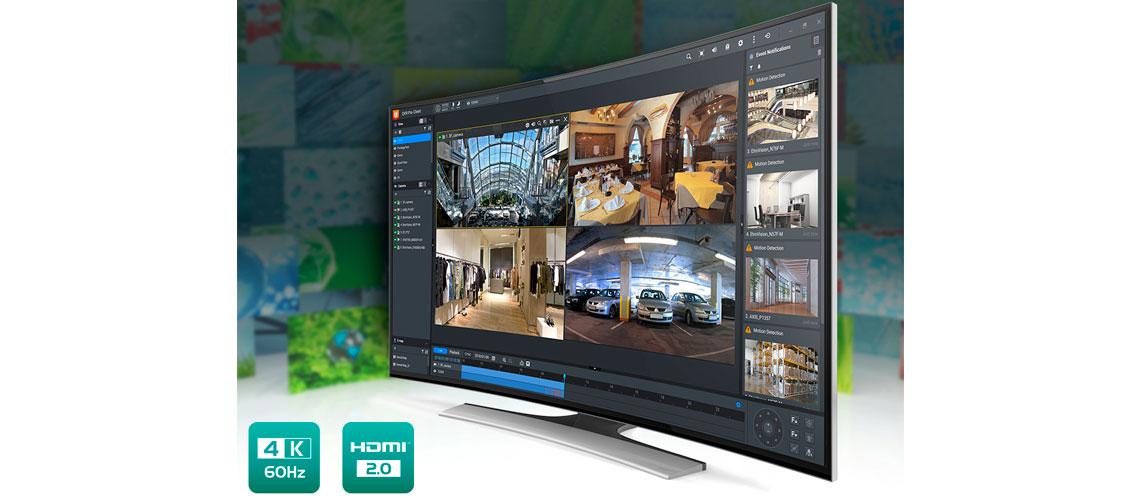 Canais de monitoramento e transcodificação em tempo real