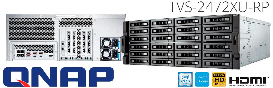 TVS-2472XU-RP Qnap: Alta performance e solução em armazenamento