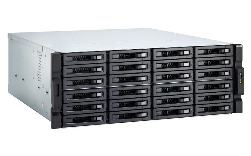 Qnap TVS-2472XU-RP NAS Storage 24 Baias Hot-Swappable