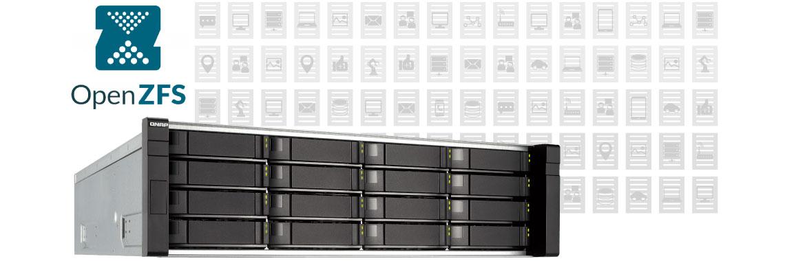 ZFS – Desempenho e segurança no storage ES1640dc
