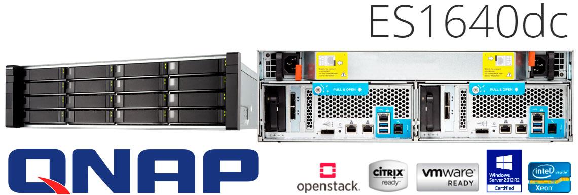 Storage NAS para 16 Discos - Qnap ES1640dc